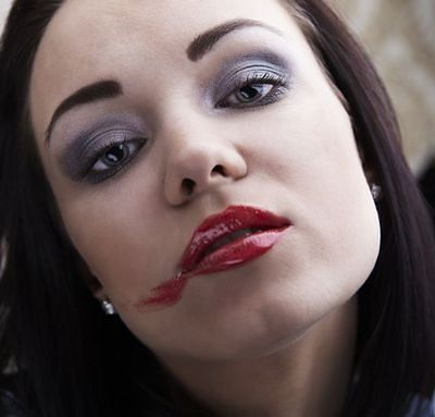 Rozmazany makijaż