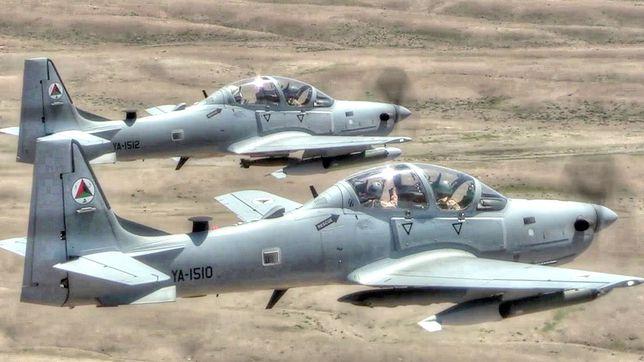 A-29 Super Tucano podczas ćwiczeń