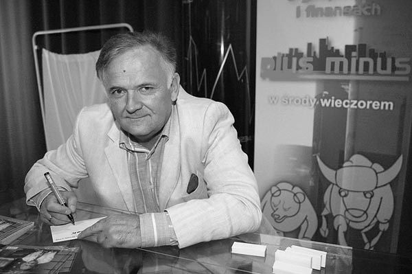 Nie żyje Tadeusz Mosz, publicysta ekonomiczny