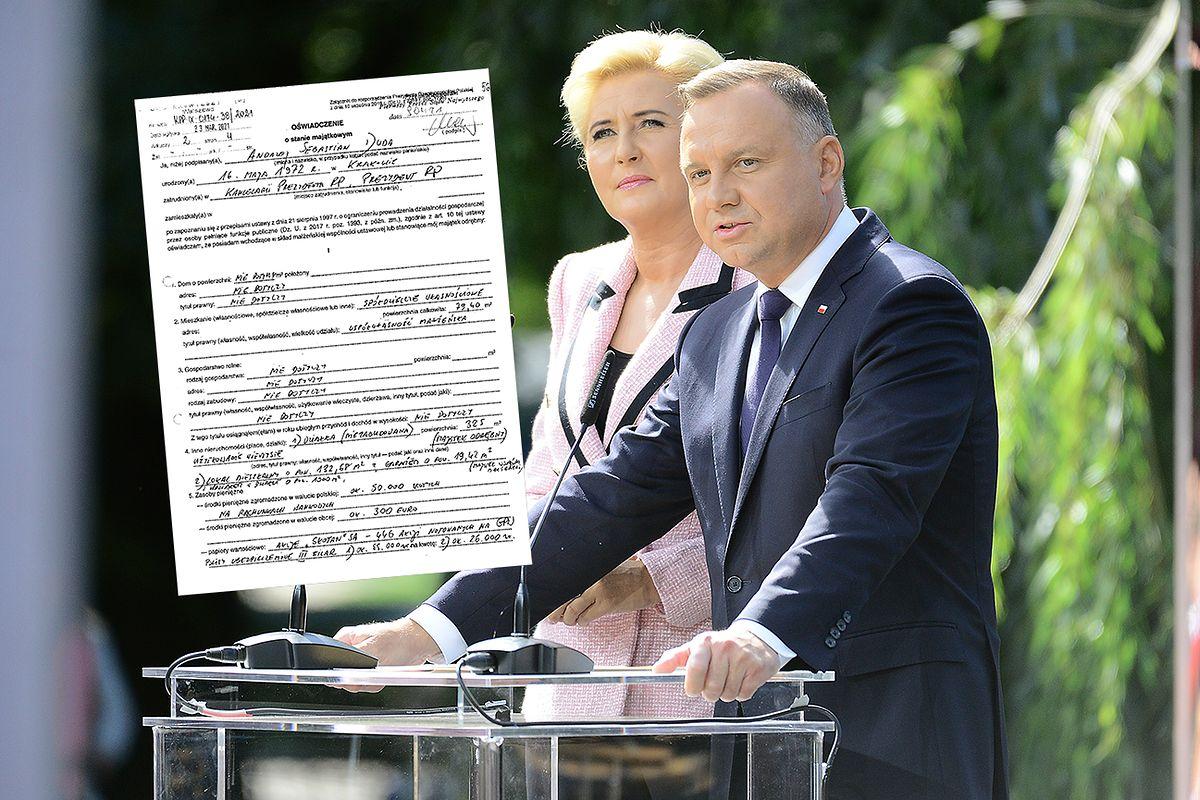W Pałacu Prezydenckim wynagrodzenie otrzymuje Andrzej Duda. Pierwsza dama już nie