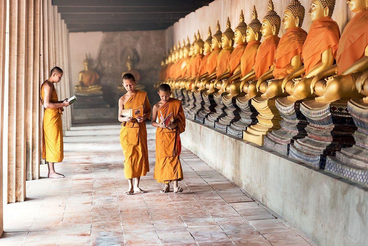 Klasztor w Tybecie