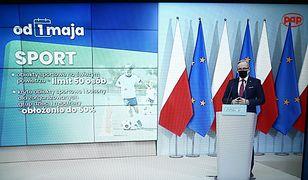 Otwarcie stadionów od 15 maja w ścisłym reżimie sanitarnym. Premier ujawnia zasady i limity osób