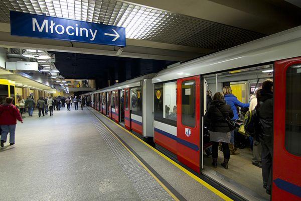 Policja zatrzymała sprawcę fałszywego alarmu w metrze