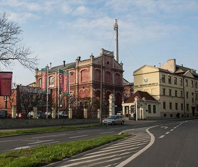 Lubelska Perła wstrzymał produkcję w swoim browarze. Na zdjęciu: siedziba dyrekcji.
