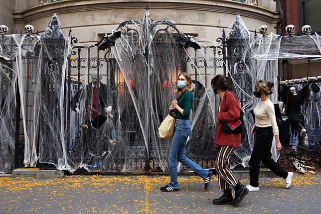Klimat Halloween czuć w USA na każdym kroku