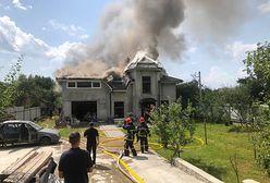 Katastrofa na Ukrainie. Samolot runął na dom