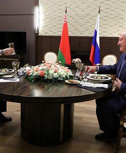 Spotkanie Władimira Putina i Aleksandra Łukaszenki w Soczi