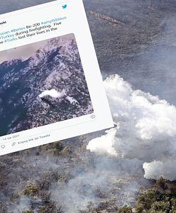 Katastrofa samolotu w Turcji. W sieci pojawiło się wideo