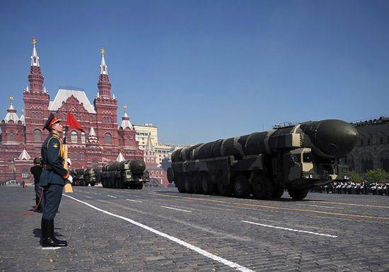 Polacy za Rosjanami na defiladzie zwycięstwa w Moskwie