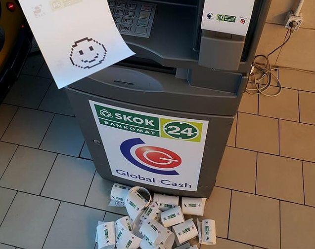 Bankomat nie wypłacił pieniędzy