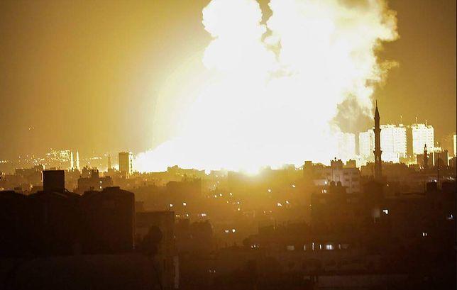 Ataki w Strefie Gazy. Są ofiary izraelskich nalotów