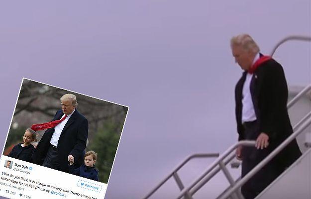 Wiatr zdemaskował modowy trik Donalda Trumpa. Internauci nie mogą przestać się śmiać