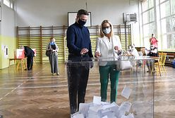 Wybory 2020. Rafał Trzaskowski z żoną już zagłosowali