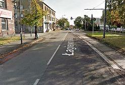 Świętochłowice. Remont ul. Łagiewnickiej, jest jeden tor tramwajowy, będą dwa