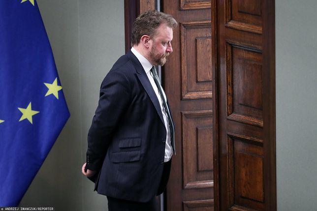 Wybory 2020. Minister zdrowia Łukasz Szumowski