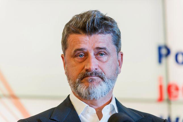 """Janusz Palikot bardzo negatywnie wypowiedział się o całej akcji """"Różaniec do granic""""."""