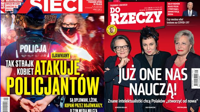 """Okładki tygodników. """"Strajk Kobiet"""" i zmiany w Polsce na nagłówkach"""
