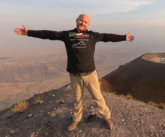 Robert Gondek zorganizował kilkanaście podróży i wędrówek na 22 afrykańskie szczyty