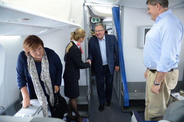 Para prezydencka z wizytą w Nowym Jorku