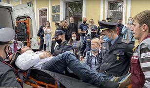 Białoruś. Chciał popełnić samobójstwo na sali sądowej. Nowe informacje o stanie zdrowia opozycjonisty