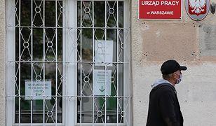 Koronawirus w Polsce. Rośnie liczba osób bezrobotnych.
