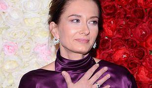 Syn Anity Sokołowskiej poszedł do szkoły. Aktorka nie kryła łez