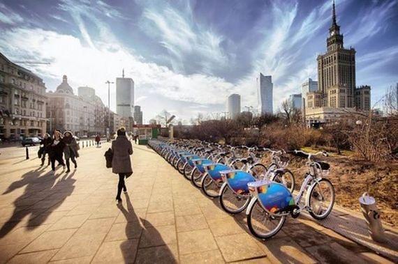 Warszawa wysoko w rankingu. Jesteśmy rowerową stolicą Europy?
