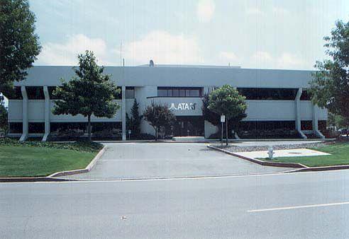 Siedziba zarządu Atari w Sunnyvale w 1984 roku.