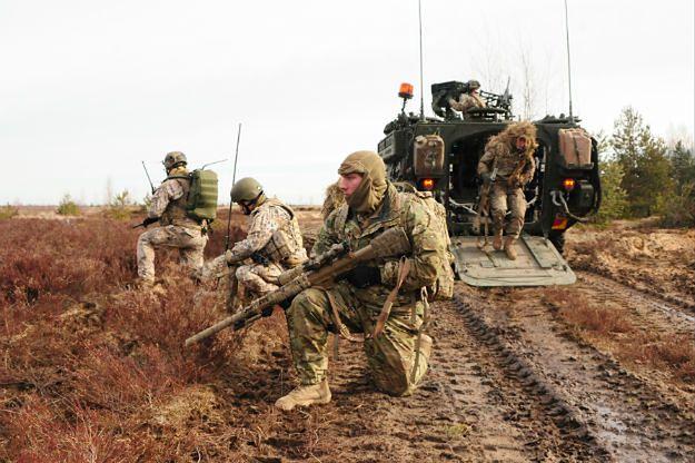 Międzynarodowe ćwiczenia wojskowe na Łotwie