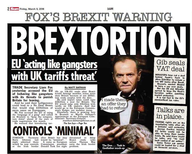 Brytyjska gazeta ostro o Tusku