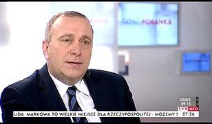 Grzegorz Schetyna w TVP INFO.