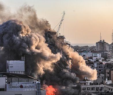 Konflikt Izrael-Palestyna. W Strefie Gazy runął kolejny wieżowiec
