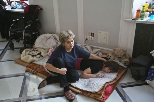 W sejmie trwa protest rodziców dzieci niepełnosprawnych