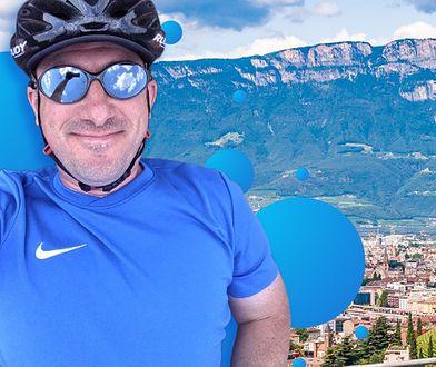Szymon Nitka zna się na trasach rowerowych jak mało kto