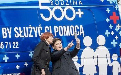 500+ sprawia, że Polacy stali się optymistami