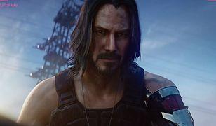 """Keanu Reeves jako Johnny Silverhand w grze """"Cyberpunk 2077"""""""