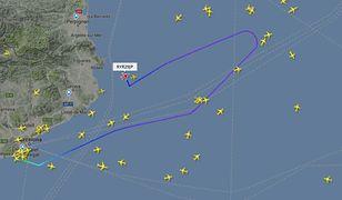 Zawrócono samolot z Barcelony do Krakowa. W kokpicie zapaliła się lampka ostrzegawcza
