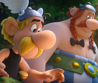 Kadr z filmu o przygodach sympatycznych Galów