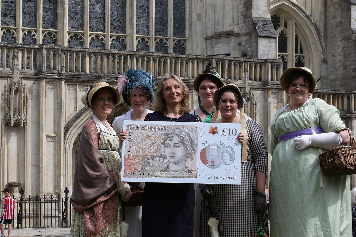 Jane Austen na nowym banknocie w Wielkiej Brytanii. O fałszerstwo będzie znacznie trudniej