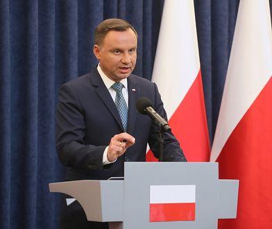 Prezydent Andrzej Duda zawetował ustawę rządową reformującą ordynację wyborczą do Parlamentu Europejskiego