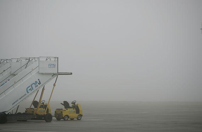 Gęsta mgła uziemiła samoloty w Poznaniu