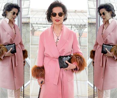 LOOK OF THE DAY: Bianca Jagger cała w różu Prady