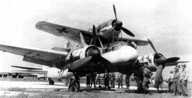 Mistele - niemieckie bezzałogowe samoloty kierowane przez autopilota