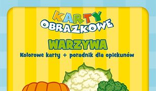 Karty obrazkowe dla dzieci - Warzywa