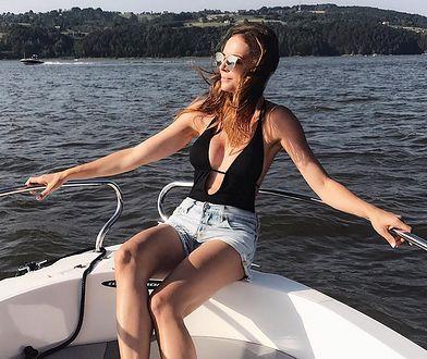 Anna Wendzikowska na wakacjach w Polsce