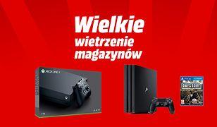 Wielkie wietrzenie magazynów w Media Markt. Konsole, gry i wszelaka elektronika w promocyjnych cenach