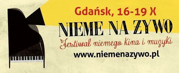"""Festiwal kina niemego i muzyki """"Nieme na żywo"""""""