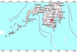 Filipiny. Trzęsienie ziemi o magnitudzie 6,3