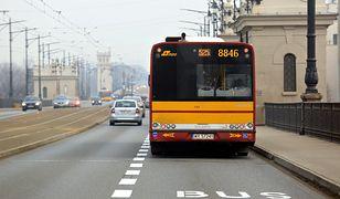 Nowe buspasy w Warszawie