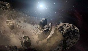 Artystyczna koncepcja asteroidy